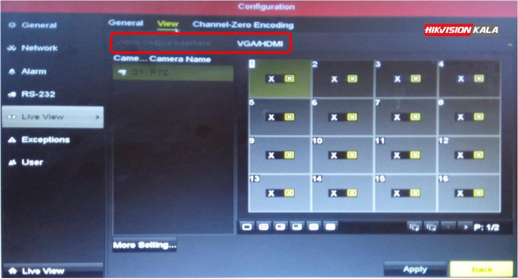 VGA HDMi دستگاه هایک ویژن