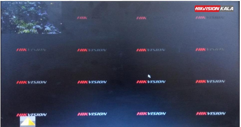 عکس دوربین هایک ویژن در دستگاه